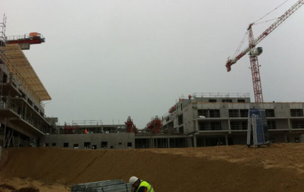 Chantier isolation cabourg